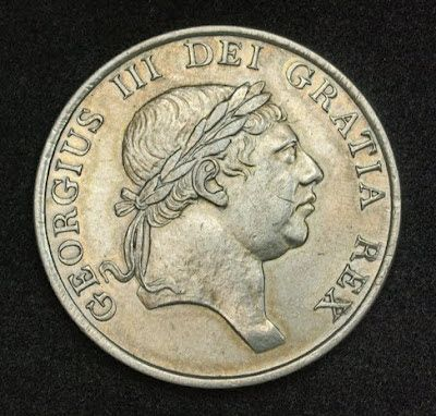 British Silver 3 Schilling Bank Token Coinage King George Iii 1812 Obverse Head Of George Iii Of Great Britain Right King George Iii Silver Coins Coins