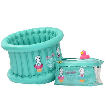 baignoire b b gonflable cupcake babies life in the bath pinterest. Black Bedroom Furniture Sets. Home Design Ideas