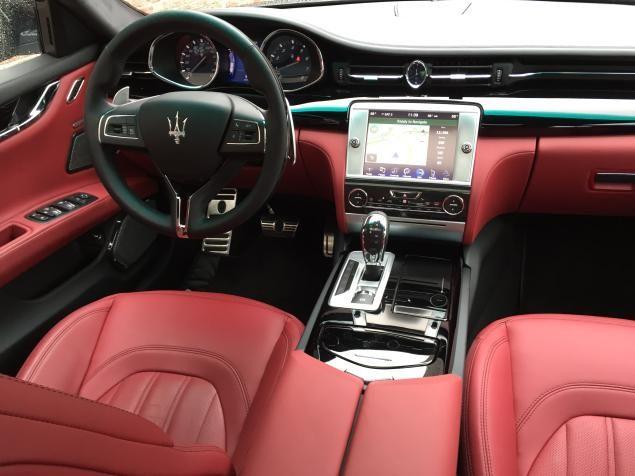 Review 2015 maserati quattroporte dream big maserati - Maserati granturismo red interior ...