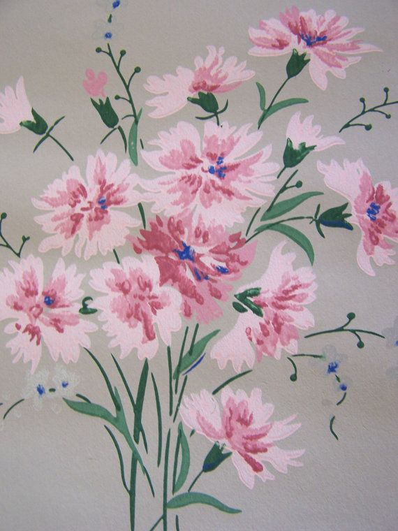 Vintage Wallpaper c1940s