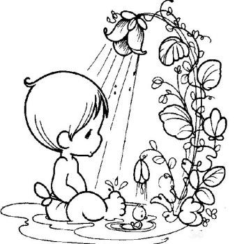 Precious Moments Baby And Teddy Bear Coloring Pages - Precious - new baby halloween coloring pages