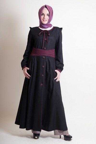 Tugba Giyim Indirimli Pardesu Kap Modelleri Hijab Fashion Style Dresses