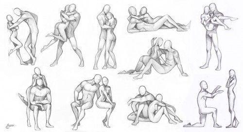 pose hug에 대한 이미지 검색결과 | boceto 1 | pinterest | pose