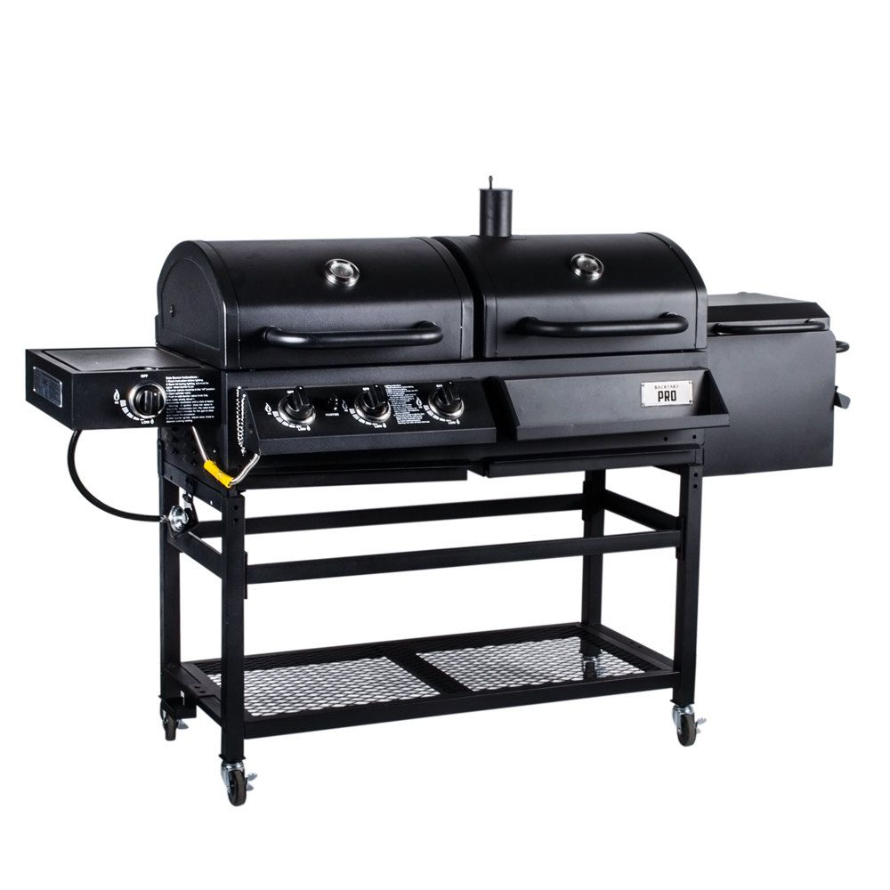 charcoal gas grill backyard pro portable outdoor gas and charcoal grill 30925