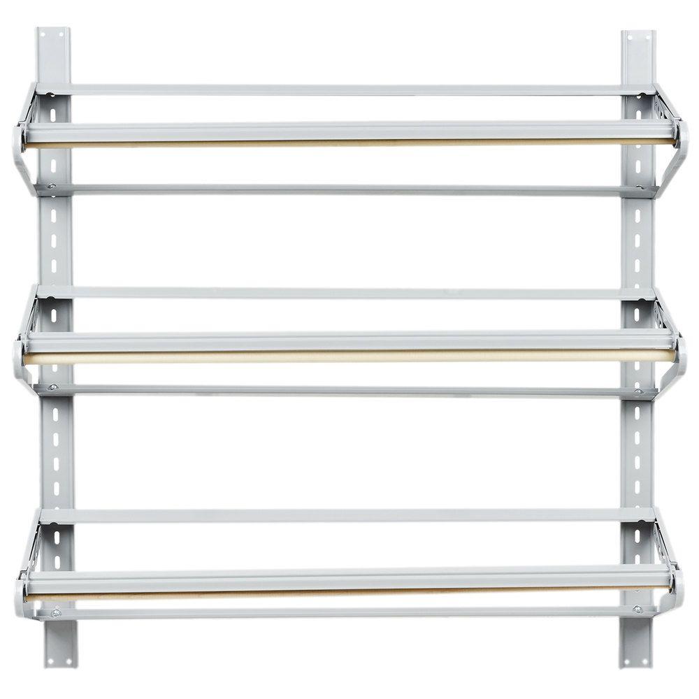 Bulman t29236 36 horizontal three paper roll wall rack