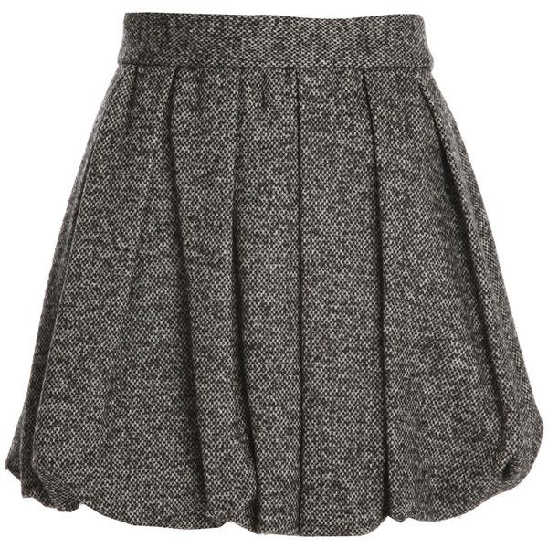 Alice + Olivia Roni Short Bubble Skirt (€74) ❤ liked on Polyvore featuring skirts, mini skirts, bottoms, saias, long skirts, sexy slip, sexy short skirts, short mini skirts and short skirts