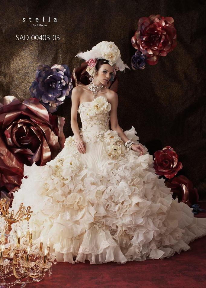 List 14 Stella de Libero White-Gold Wedding Dresses – Top Famous ...