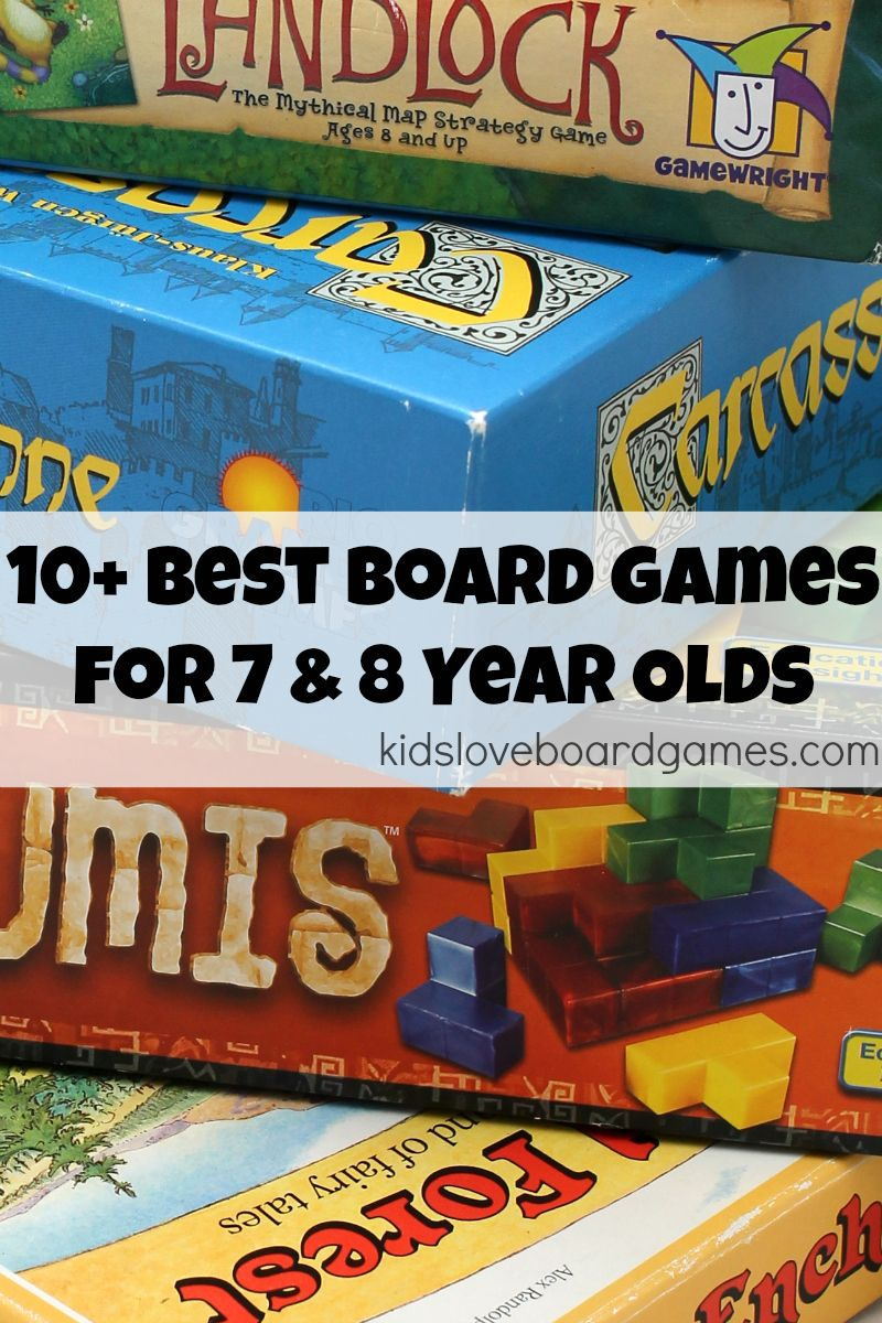 10 Best Board Games For 7 8 Year Olds Kids Love Board Games