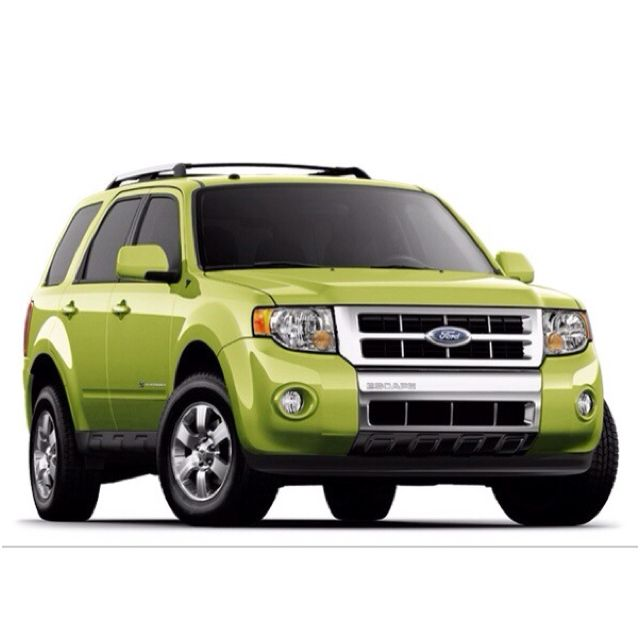 2012 Ford Escape Lime Green This Is My Dream Car Ford