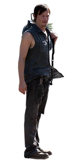 Daryl The Walking Dead Render By Twdmeuvicio On Deviantart The Walking Dead Daryl Dixon Daryl