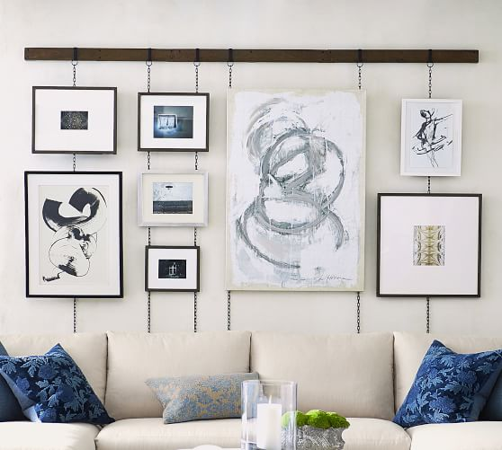 Frame Rail Bronze In 2020 Picture Frame Wall Gallery Wall
