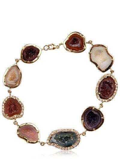 Kimberly Mcdonald Geode Bracelet