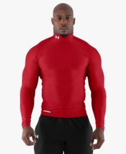62698d46036 Men s ColdGear® Evo Long Sleeve Compression Mock - MEDIUM