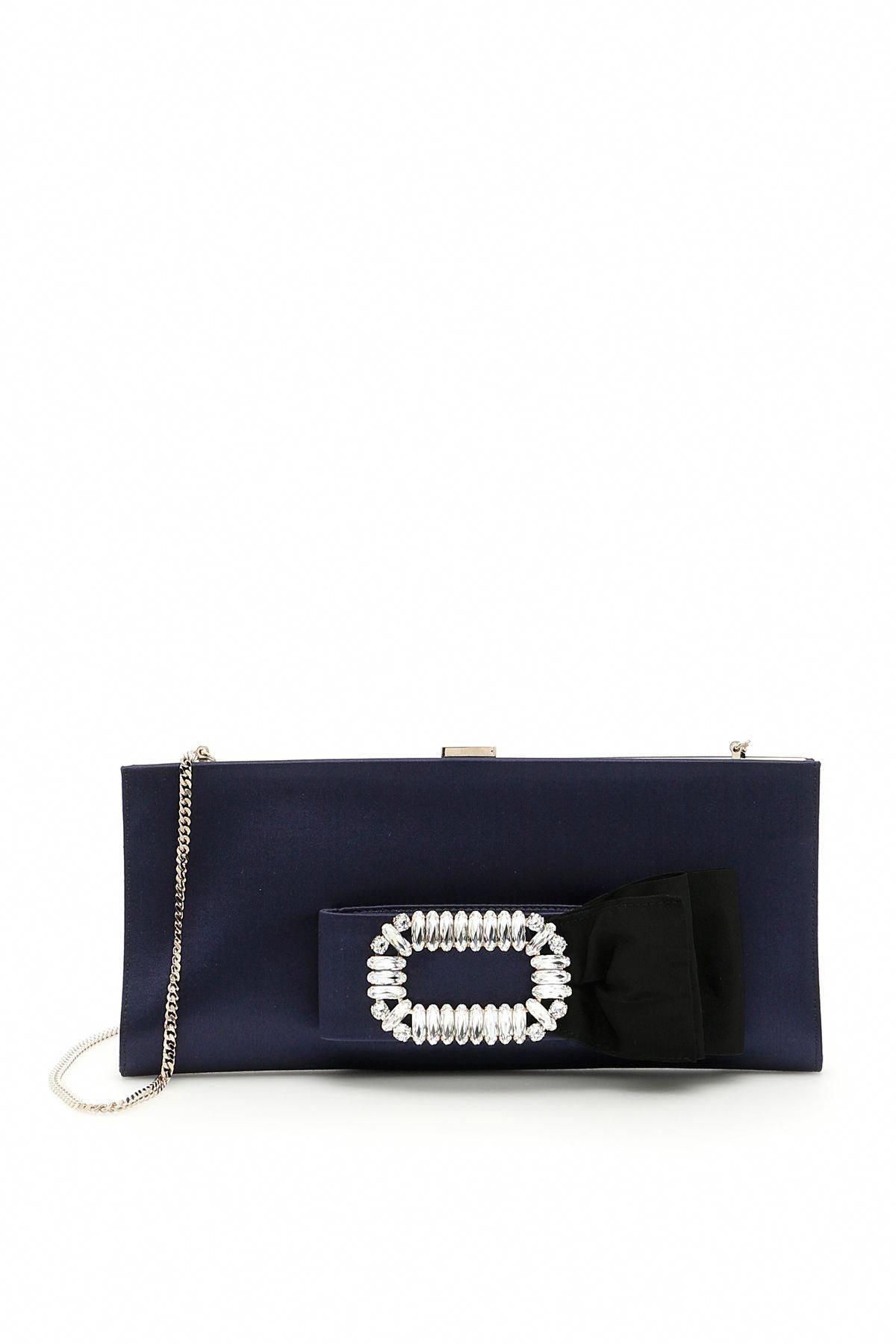 cff8e73f8f ROGER VIVIER SMALL PILGRIM JEWELS PAPILLON CLUTCH.  rogervivier  bags   shoulder bags  clutch  lining  crystal  hand bags