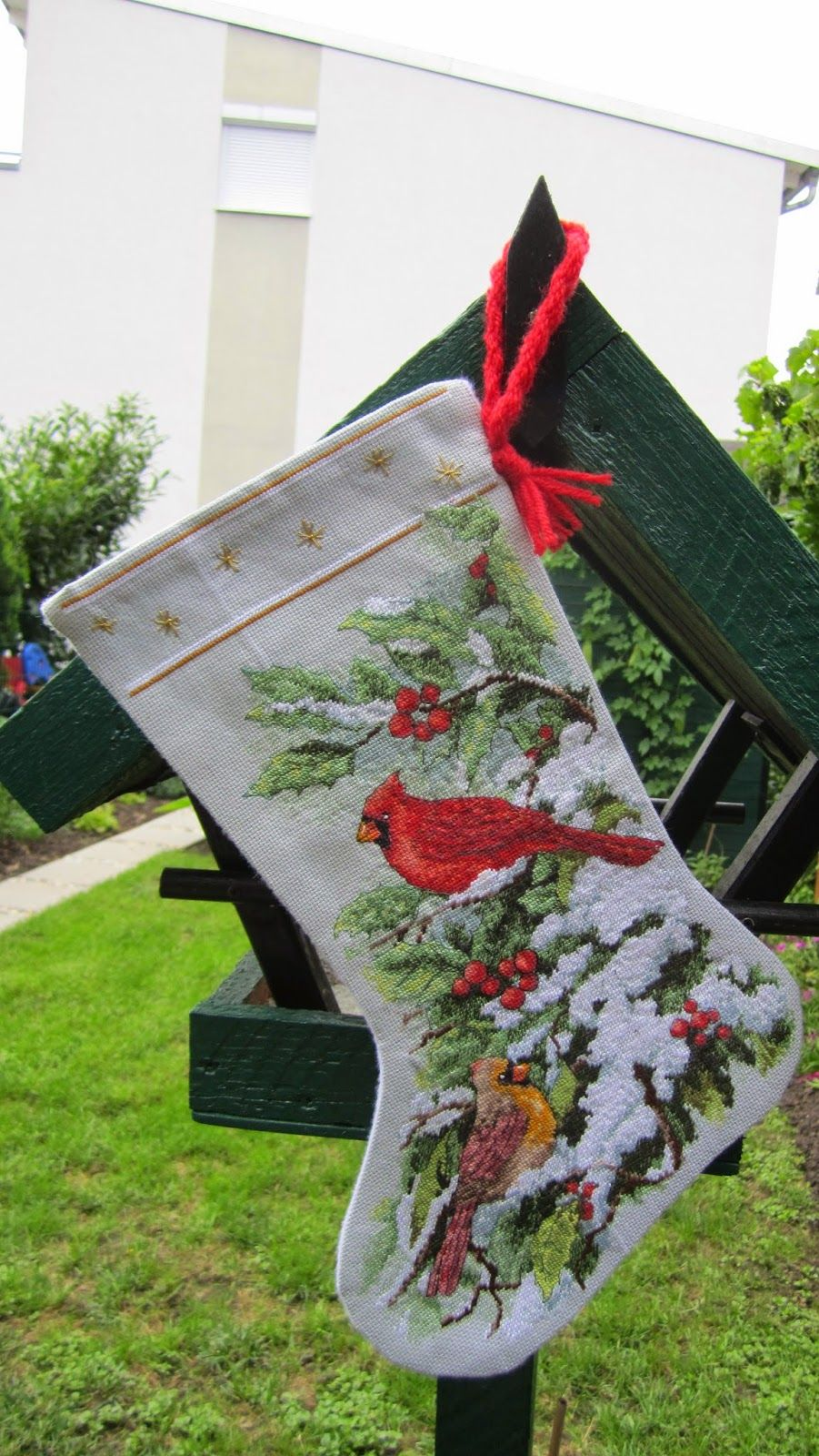 Santa Stocking Atlantisetta´s Tageswerke - mein Handarbeitsblog