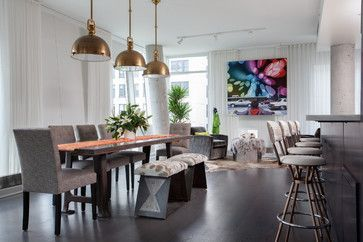 Dining Room New York Highline Loft  Contemporary  Dining Room  New York  Wellbuilt