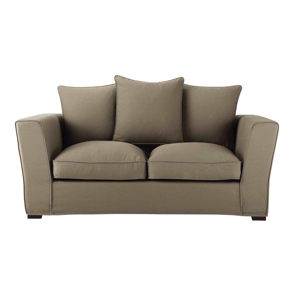 Ausziehbares 2 3 Sitzer Sofa Aus Baumwolle Taupe Jetzt Bestellen Unter Https Moebel Ladendirekt De Wohnz Canape Lit Canape Cuir Pas Cher Mobilier De Salon