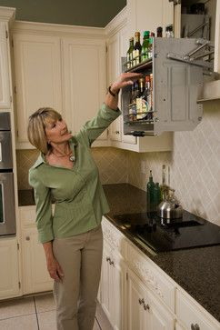 Kitchen Pull Down Shelves Cabinet And Drawer Organizers For Very