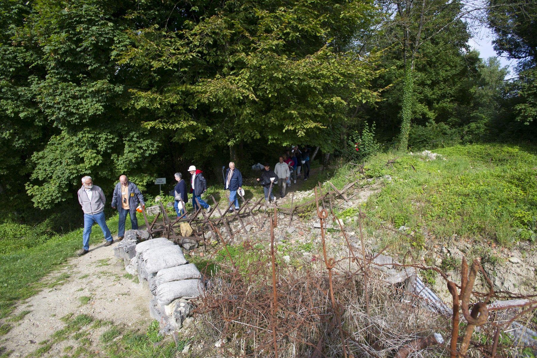La Butte De Vauquois Site 14 18 En Argonne Pres De Verdun Le Pre La Grande Guerre Soldat