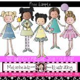 My Birthday clip art 2018 - FREEBIE - Melonheadz Clipart #clipartfreebies