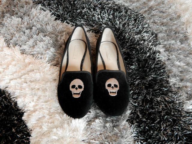 FASHIONANDBONES: Skull loafers + giveaway winner!