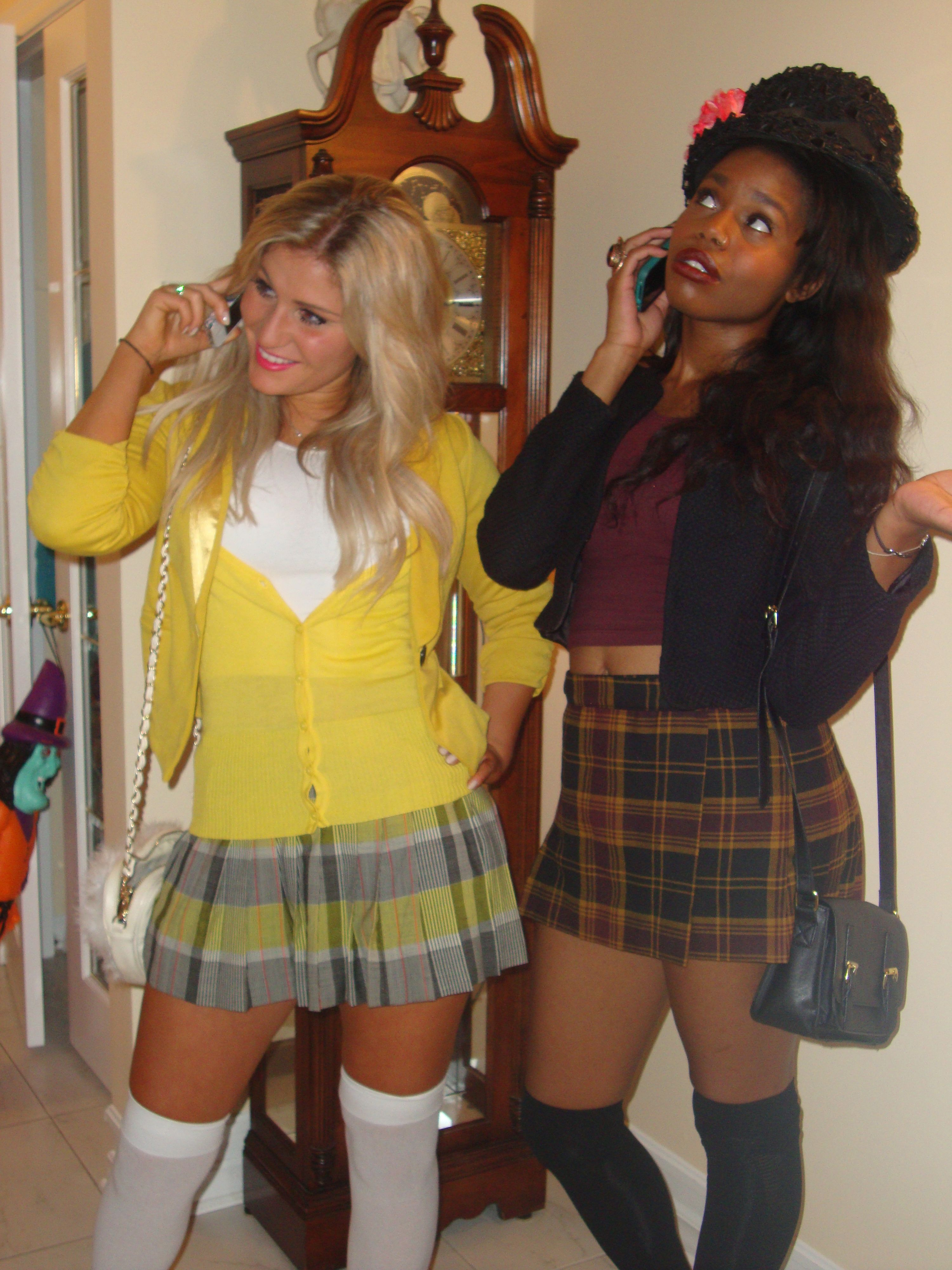 Cher Horowitz and Dionne Davenport. Clueless Halloween Costumes  sc 1 st  Pinterest : cher costume ideas  - Germanpascual.Com
