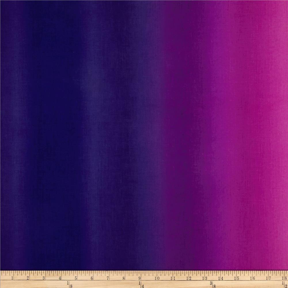 Essential Gradiations Benartex Cotton Fabric Purple Ombre