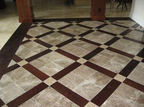 Ceramic Tile And Wood Floor Combinations | za kucu | Pinterest ...