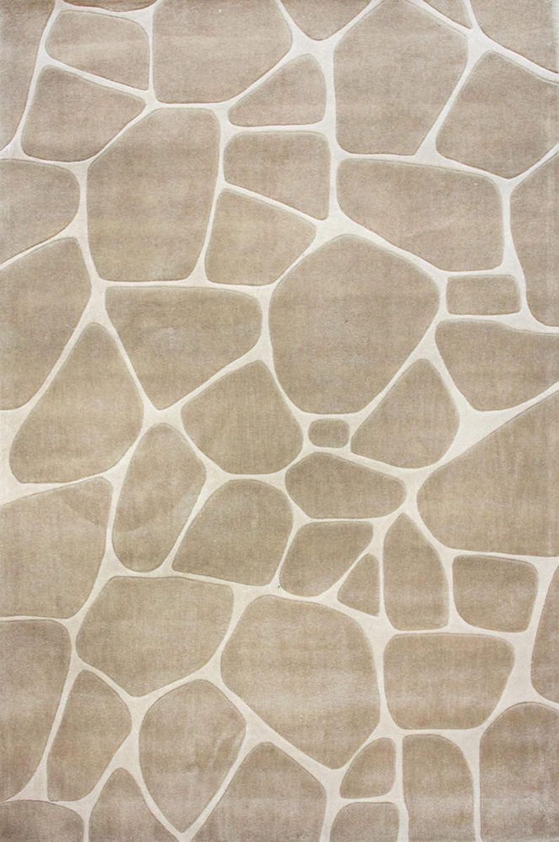 Beige Stepping Stones Modern Neutral Rug Neutrals In