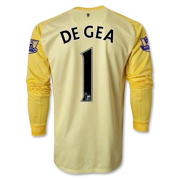 timeless design b4701 0f7be Manchester United 13/14 DE GEA LS Keeper Jersey | Soccer ...