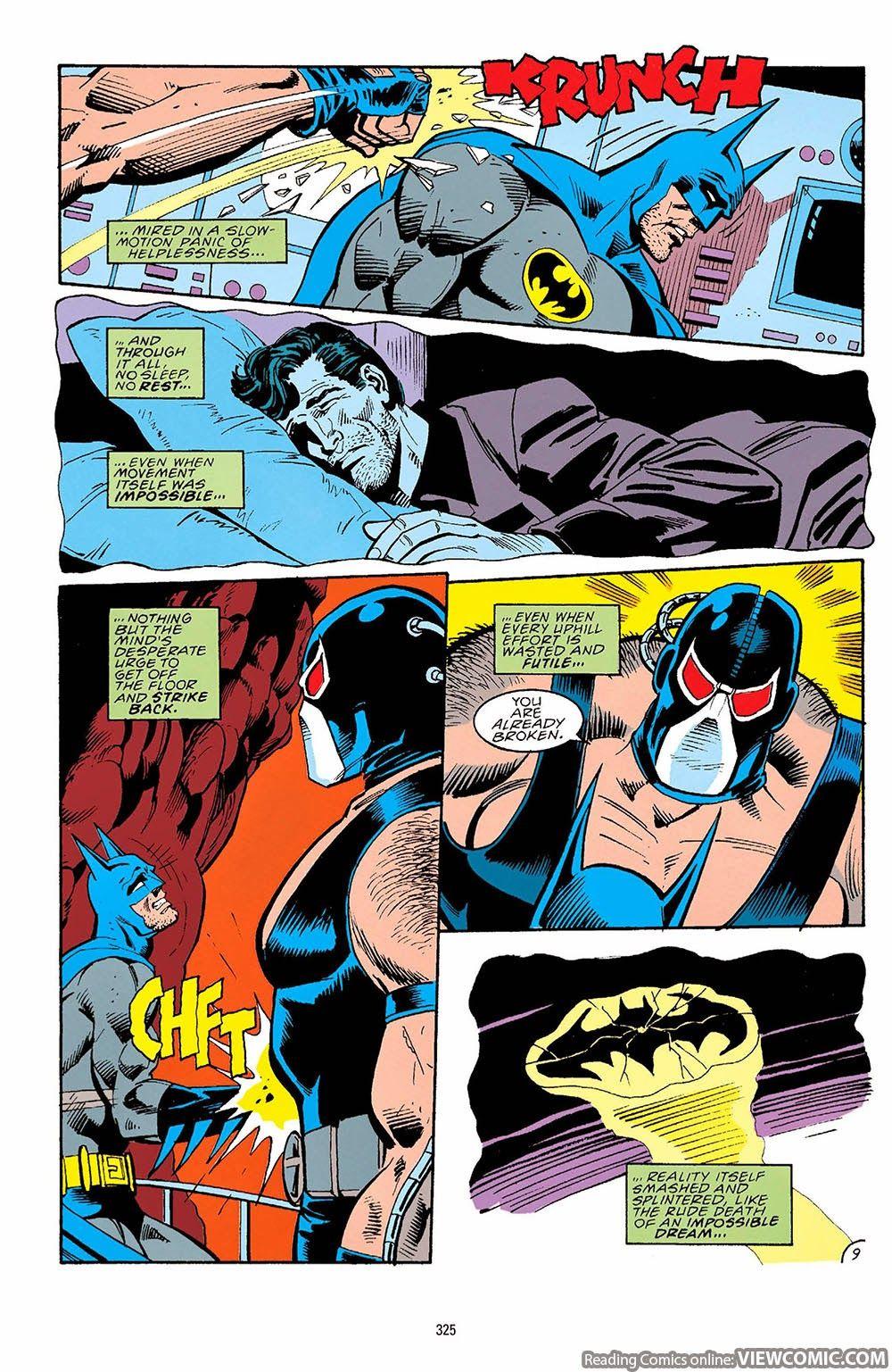 Batman – Knightfall Part 01 – Broken Bat (2000) | Viewcomic