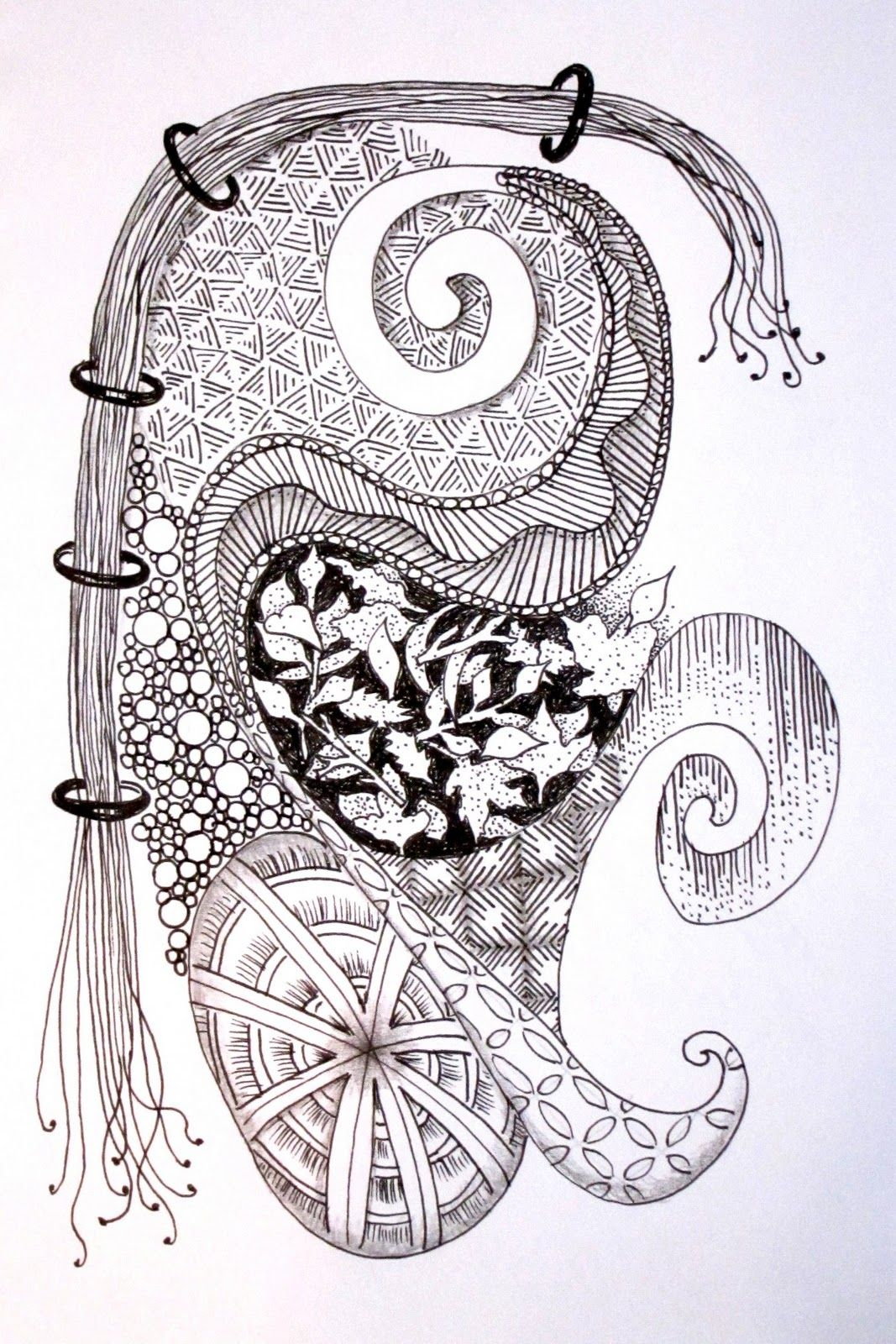 Zentangle Patterns Step By Step Cool Inspiration Design