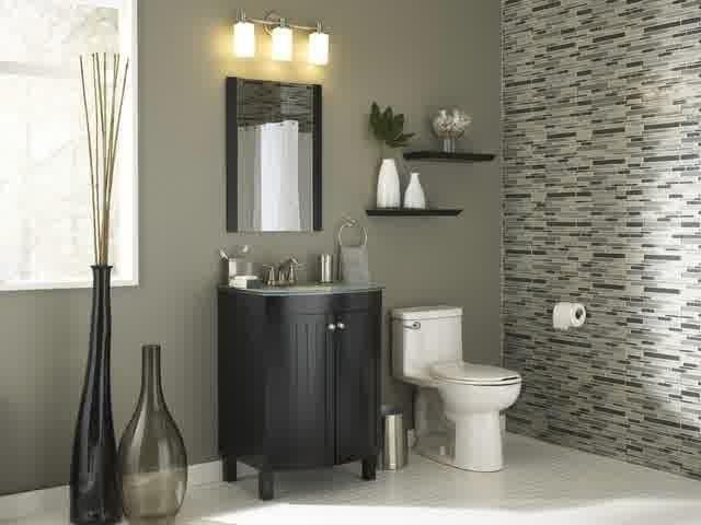 Bathroom Remodel Modern Lowes Bathroom Remodel Ideas Contermporary With Single Black Vanity Mirror O Home Depot Bathroom Grey Bathrooms Designs Bathroom Decor