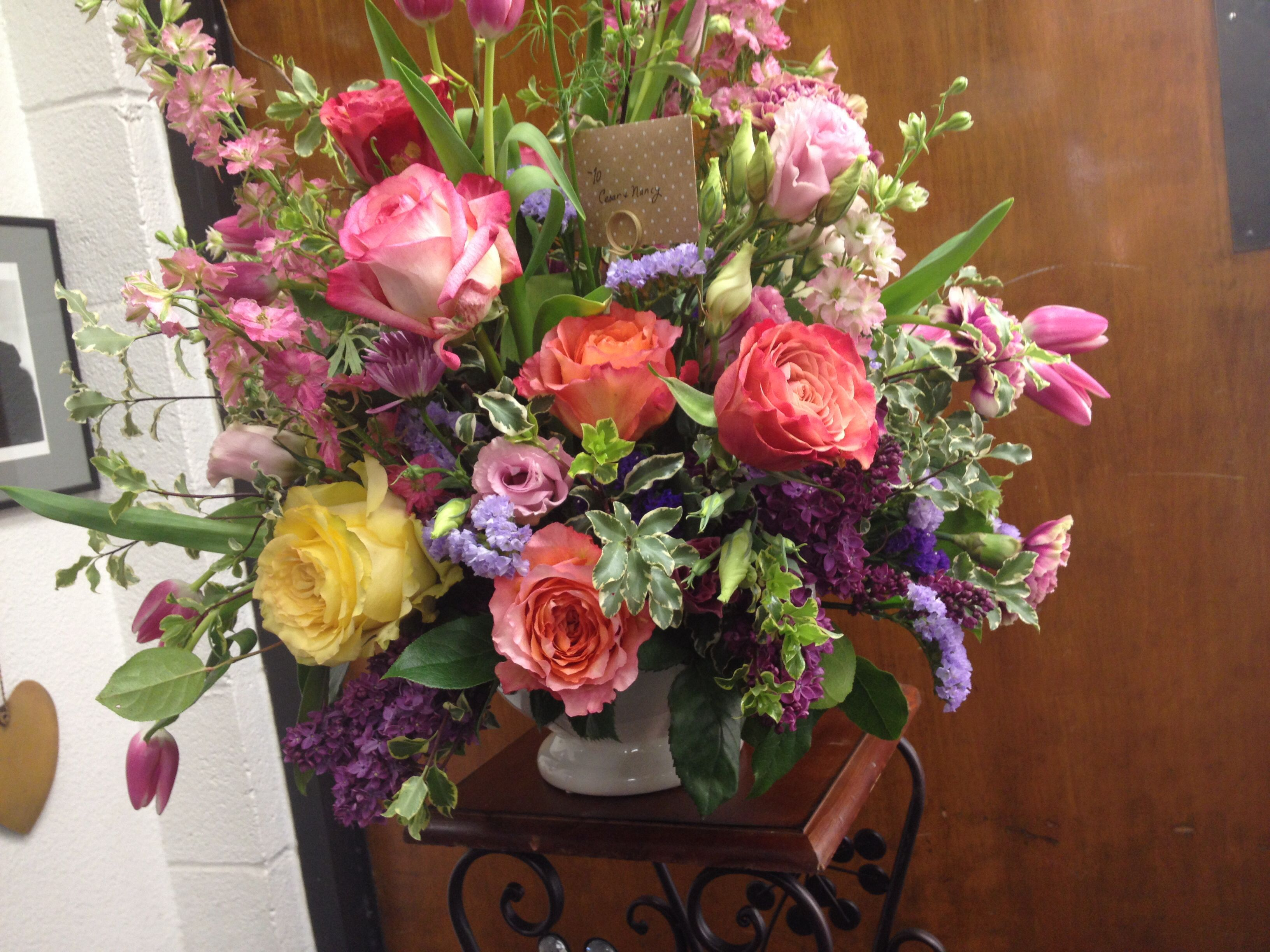 French Country Style Floral Arrangement By Wwwironheartimportscom