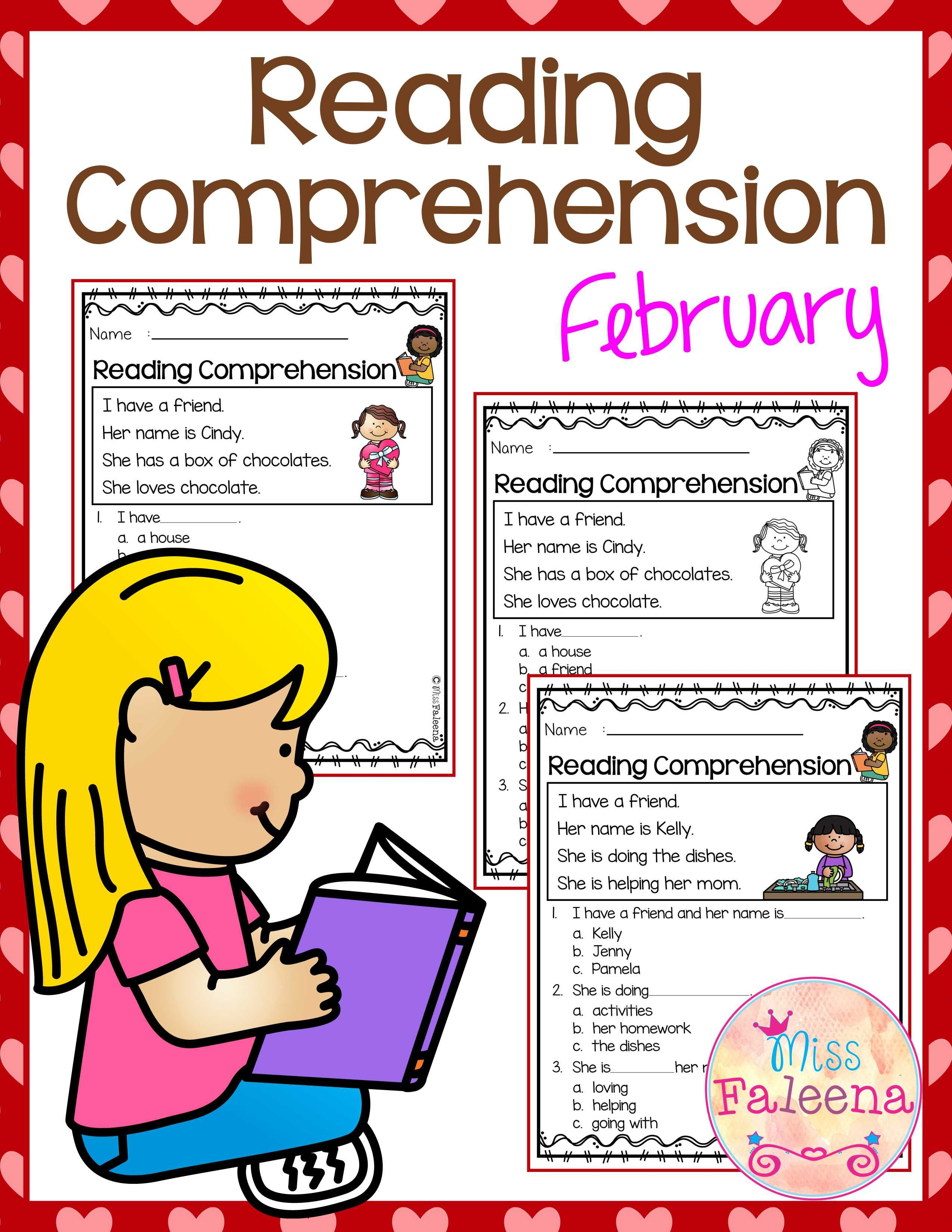 February Reading Comprehension