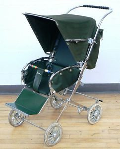 Vintage Silver Cross Folding Pushchair 1960s Baby Prams