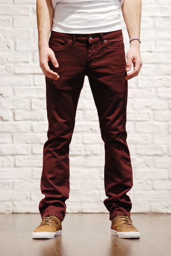 88b8edc63db2 Men s Burgundy Pants with brown shoes