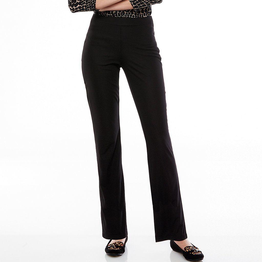 Women S Dana Buchman Slimming Pull On Pants Pull On Pants Womens Dress Pants Pants For Women [ 1024 x 1024 Pixel ]
