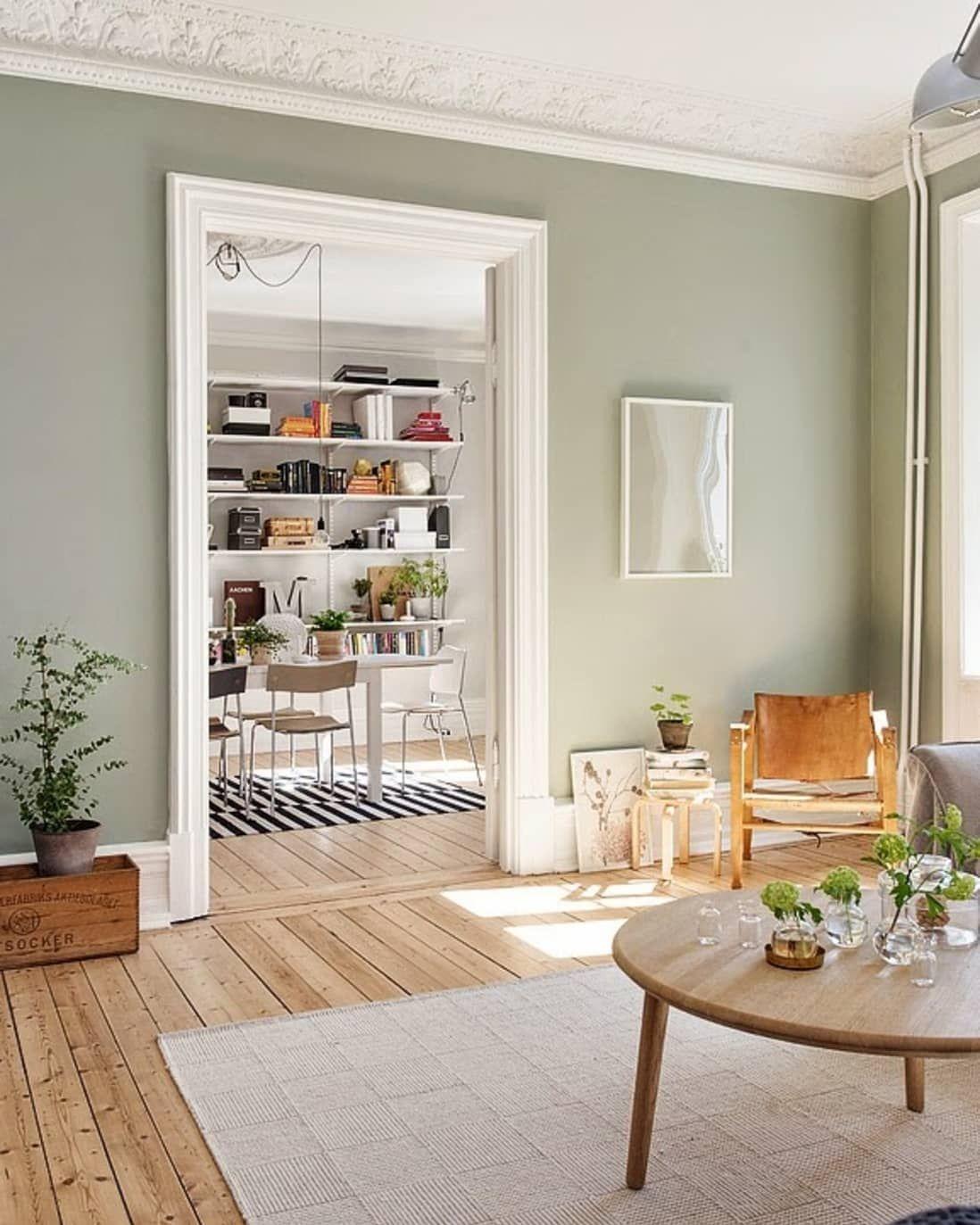 2018 New Neutral Pinterest Trend Sage Green Apartment