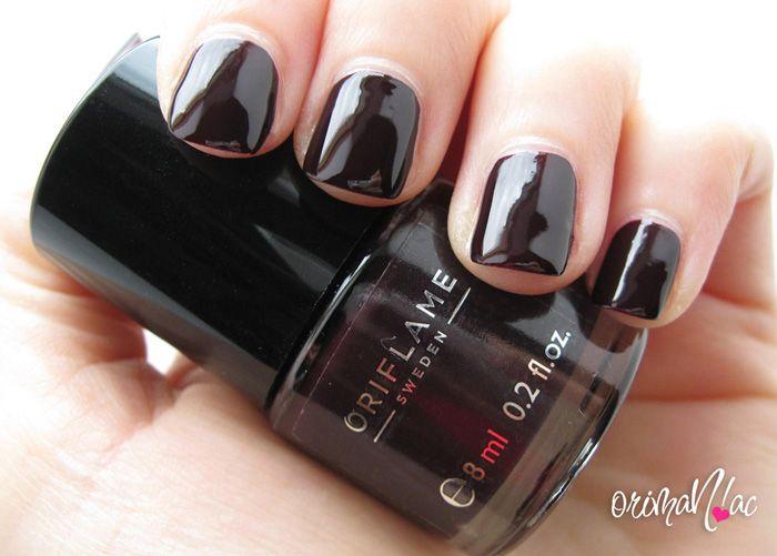 Oriflame - Pure Colour Nail Polish - Deep Plum | Oriflame ...