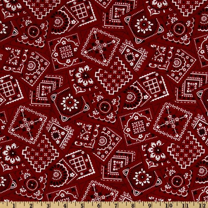 Best Bandanas Square Red From Fabricdotcom Designed By