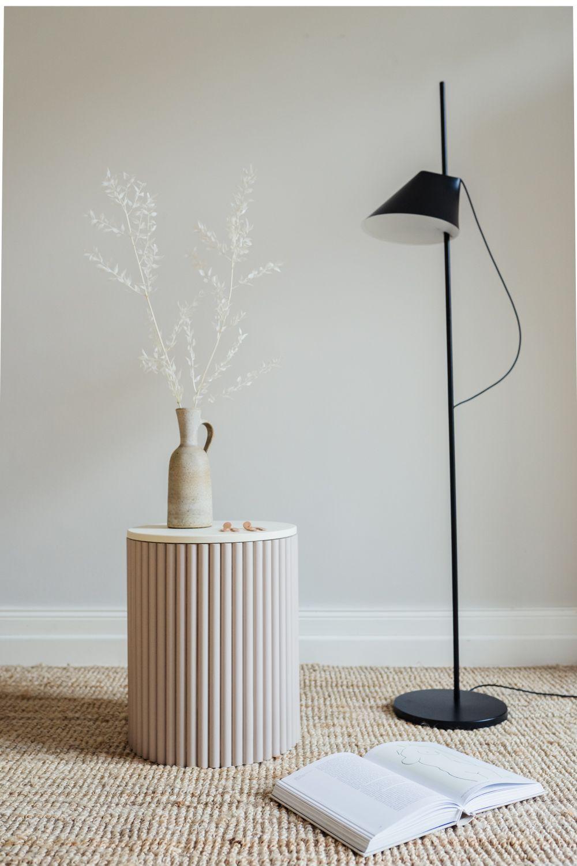 Photo of DIY Beistelltisch – eine halbrunde Sache – craftifair
