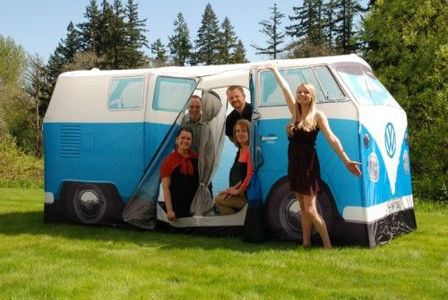 We had so much fun testing out the VW Bus tent! Solutions.com # & We had so much fun testing out the VW Bus tent! Solutions.com ...