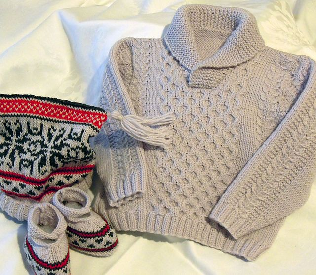 a8c2d3bc5 Baby winter wonderland set pattern by OGE Knitwear Designs ...