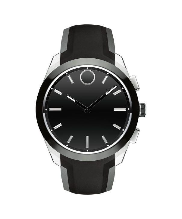Movado Movado Bold Connected Ii Men S Mid Size Black Smartwatch