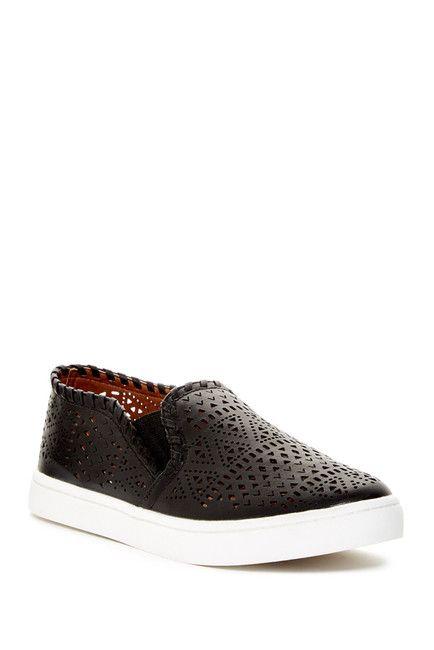 6fb28e2593e Report Abena Perforated Slip-On Sneaker