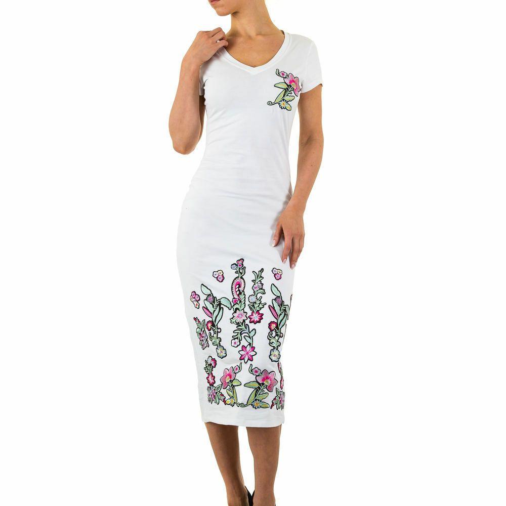 Umstandskleid Schwangerschafts Kleid Shirtkleid Stretch Minikleid Bodycon 34-48