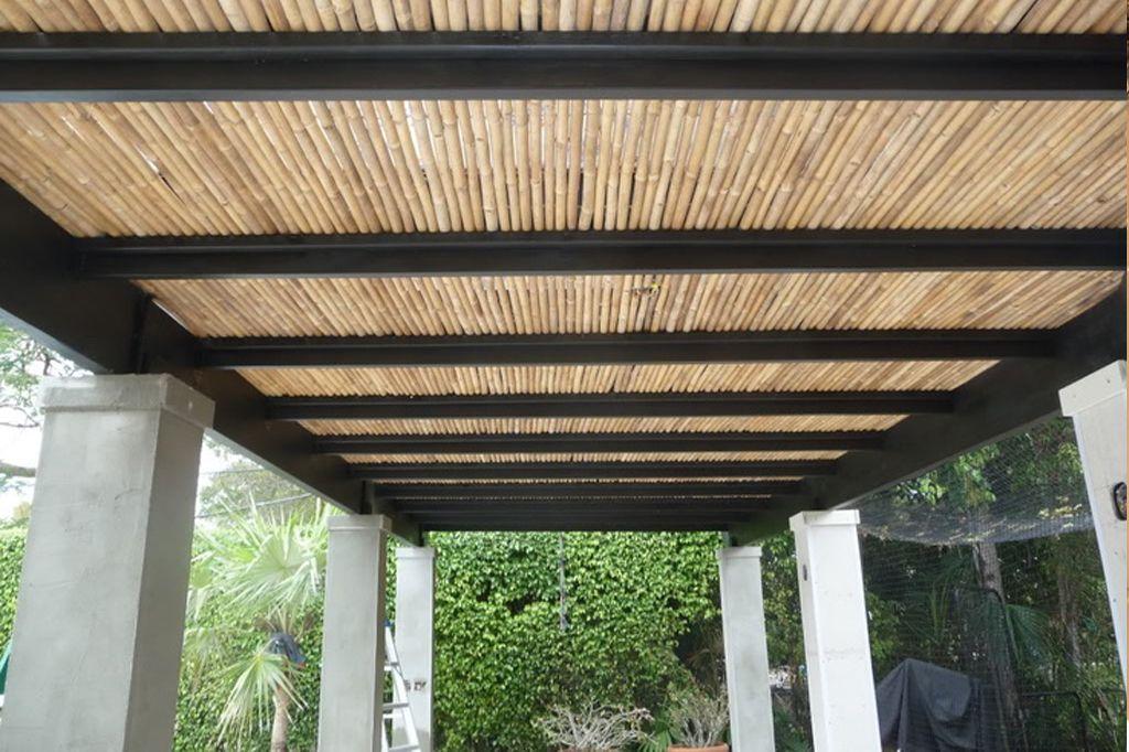 Pergola bambu buscar con google ideas jardin - Pergola bambu ...