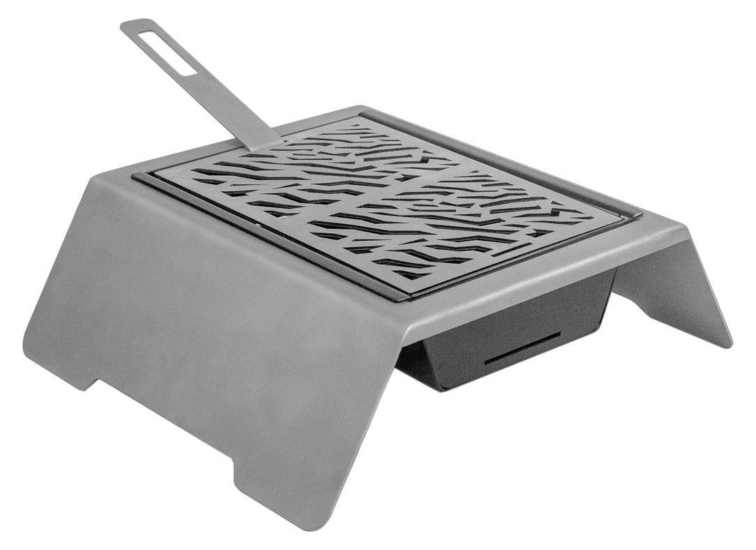movilfrit 203061 tindaya Snack Painted Steel Charcoal