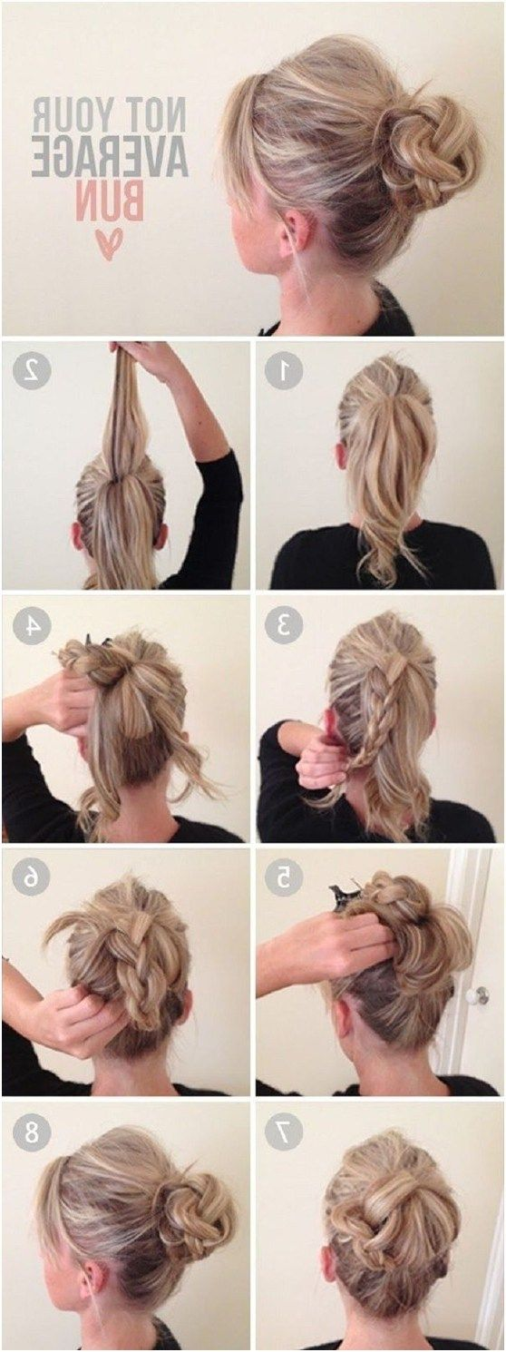 Ways To Make Cute Everyday Hairstyles Casual Updos For Long Hair Casual Hairstyles For Long Hair Long Hair Updo